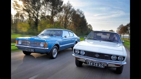 Ford Opel by Classics Ford Taunus Vs Opel Manta