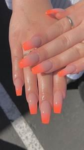 nissadadon ombre acrylic nails nails