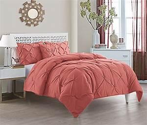 Vcny, Home, Carmen, Microfiber, 4, Piece, Comforter, Set, Super