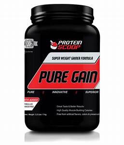 Protein Scoop Pure Gain 1 Kg Weight Gainer Powder  Buy Protein Scoop Pure Gain 1 Kg Weight
