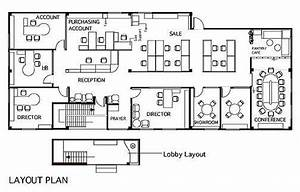 Simple architecture Layout steps for an office designing ...