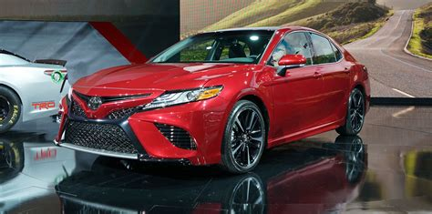 New Toyota Cars by 2018 Toyota Camry Revealed Japan Built Sedan In