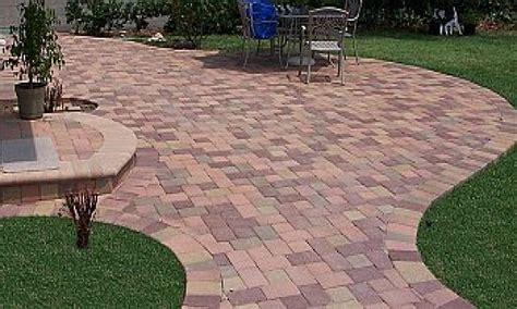lowes patio pavers paving backyard lowe s concrete pavers