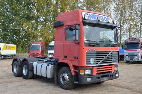 vehicle mileage form volvo f16 6x4 spring spring tractor unit from poland for