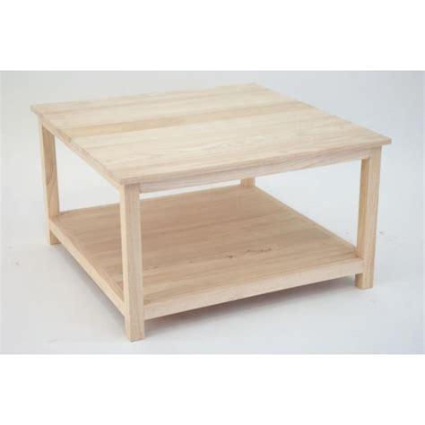 Table Basse Tradition Carrée 70cm 2 Niveaux  Pier Import