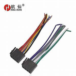 Car Stereo Female Iso Radio Plug Power Adapter Wiring Harness Special For Forte Bora Polo