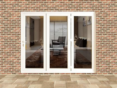 liniar trade bi folding door 3 pane upvc white ebay