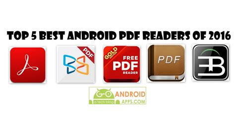 Top 5 Best Android Pdf Readers Of 2016 Appinformerscom