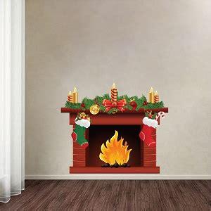 fireplace wallpaper decal fireplace wall sticker living