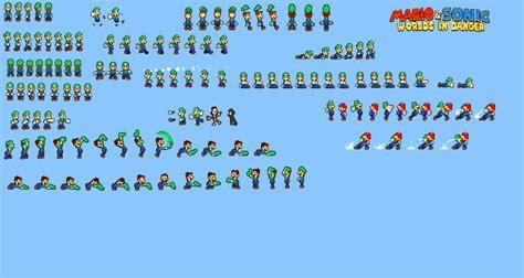Worlds In Danger Luigi Sprites By Mbf1000 On Deviantart
