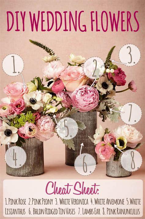 pink spring diy wedding flower arrangement inspired