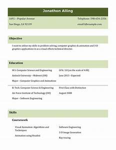 different resume formats for freshers it resume cover With sample resume for all types of jobs