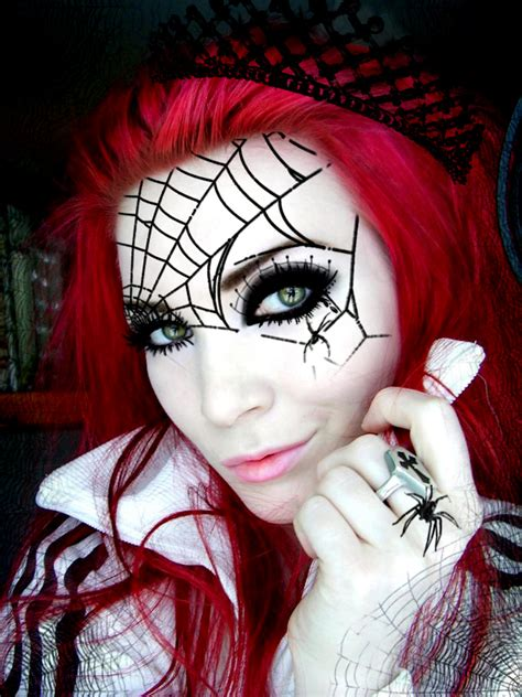 outstanding halloween spider makeup ideas  wow style
