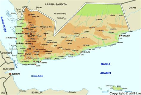 map  yemen maps worl atlas yemen map  maps