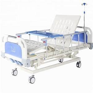 China Adjustable 3 Crank Functions Manual Medical Hospital
