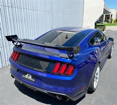 apr performance   ford mustang gtc  carbon