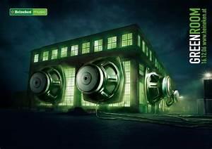 "Heineken Green Room: ""HEINEKEN SUBWOOFER"" Print Ad by ..."