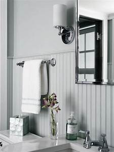 Beadboard bathroom designs pictures ideas from hgtv hgtv for Can you put a tv in the bathroom