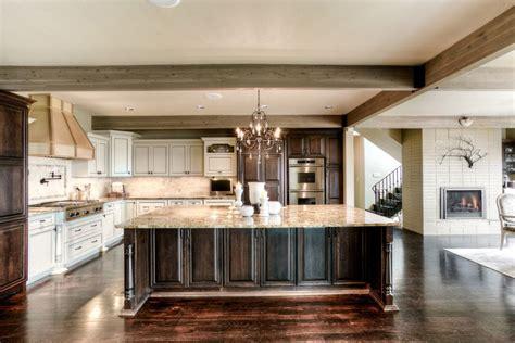 white kitchen island with granite top 63 beautiful traditional kitchen designs designing idea