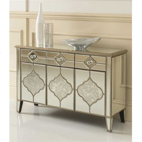 mirrored sideboard furniture sassari mirrored sideboard venetian glass furniture 4165