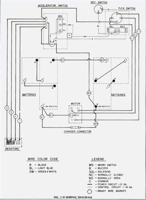 1999 ez go golf cart wiring diagram vivresaville