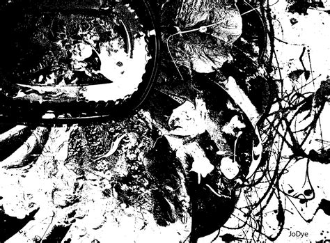 Abstract Black And White Artwork by Black And White Abstract 1 Desktop Wallpaper