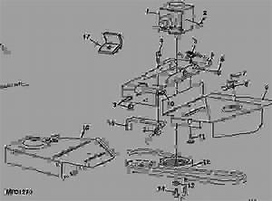 31 John Deere 62c Mower Deck Belt Diagram