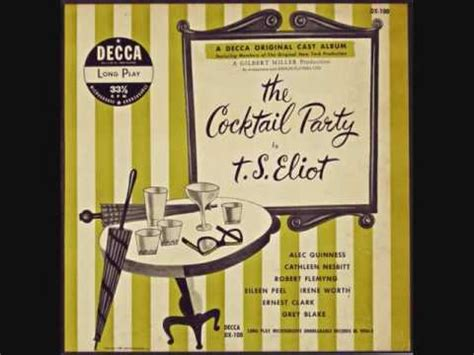 T S Eliot  The Cocktail Party Youtube