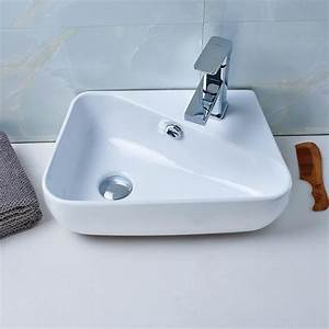 aruher lavabo de salle de bain vasque a poser evier en With modele vasque salle de bain