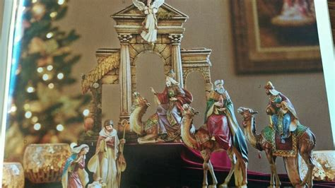 ^ Nativity Complete Set Home Interiors & Gifts Christmas