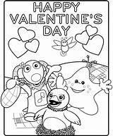 Valentines Printable Cards Card Happy Coloring Pages sketch template