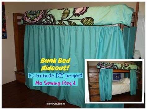 bunk bed hideout   sew curtains isaveazcom
