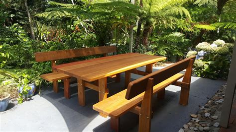 Coolabah Hardwood Picnic Table By Billabong Outdoor Furniture