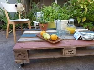 Gartenmöbel Aus Paletten Bauen : rollencouchtisch selber bauen als gartenm bel aus paletten ~ Michelbontemps.com Haus und Dekorationen