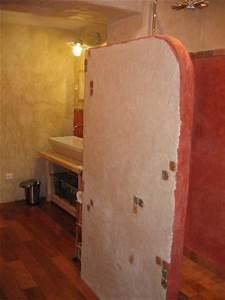 salle de bain photo 1 6 notre salle de bain tadelakt With enduit a la chaux salle de bain