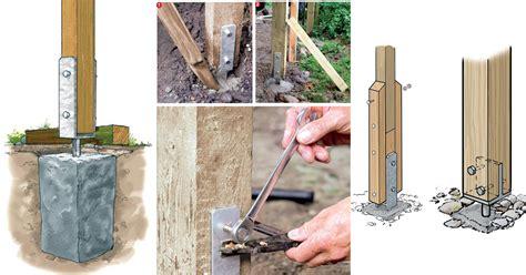 come piantare le in giardino come piantare un palo stabile e duraturo bricoportale
