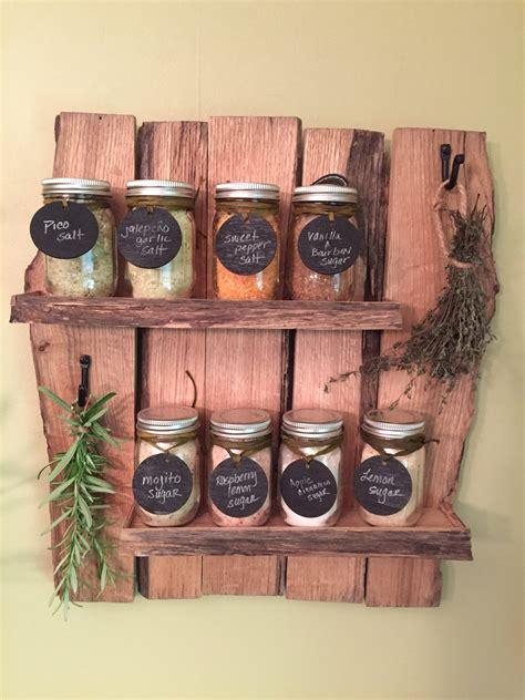 practical handmade spice rack ideas