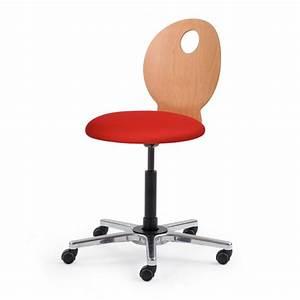Chaise De Bureau En Bois : chaise de bureau dynamique dossier bois ~ Mglfilm.com Idées de Décoration