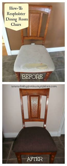 How To Reupholster Dining Room Chairs {DIY}   Frugal & DIY
