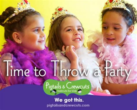pigtails and crewcuts haircut package new pigtails crew cut rockville birthday packages 4800