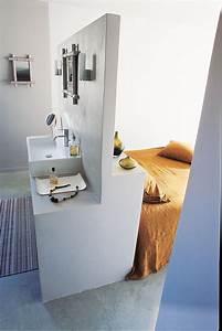 amenager une salle de bain dans une chambre maison With salle de bain design avec décoration lit bébé
