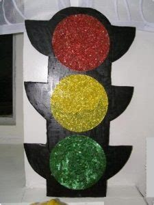 traffic light craft idea  kids crafts  worksheets
