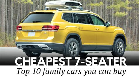 Cheapest 7 Passenger Vehicles by 7 Seater Suv Reviews 2018 Awesome Home