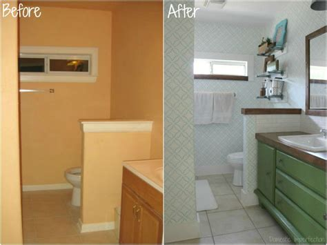 Bathroom Makeovers On A Budget Before And After by The Top Ten Posts Of 2015 Domestic Imperfection
