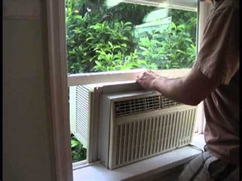 install  window ac unit youtube