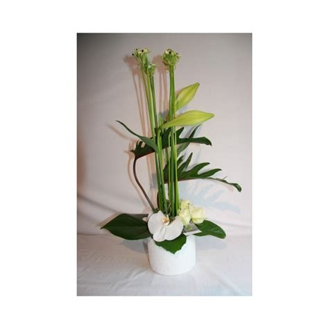 floral composition moderne bouquet rond bouquet traditionel bouquet de fleurs