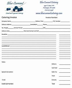 28 catering invoice templates free download demplates for Copies of invoices for free