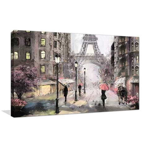 paris streets ii print  canvas    images