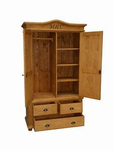 Armoire En Pin Massif : armoire pin massif cir miel ~ Teatrodelosmanantiales.com Idées de Décoration