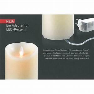 Sompex Led Kerzen : sompex batterieadapter f r sompex led kerze flame kaufen ~ Orissabook.com Haus und Dekorationen